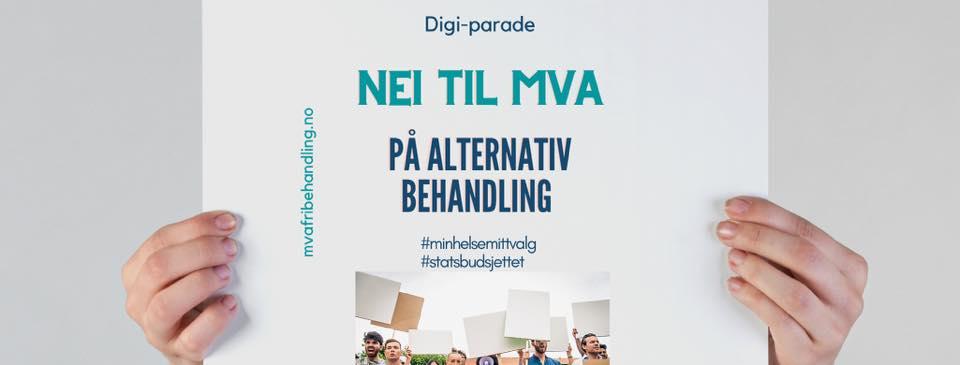 Bli med i DIGI-PARADE (demonstrasjonstog) 3.-15. desember